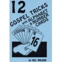 12 gospel tricks with alphabet & number cards
