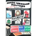 Magic message routines (2 DVD)