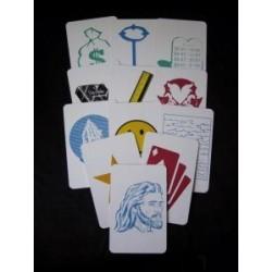 Key to the kingdom - alm. kort