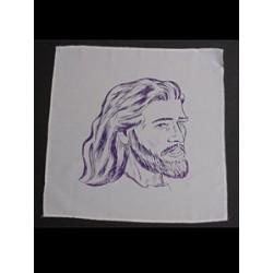 Tørklæde med Jesus