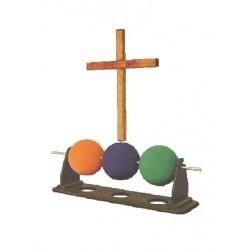 Three Ball Gospel Illustration - kæmpe udgave